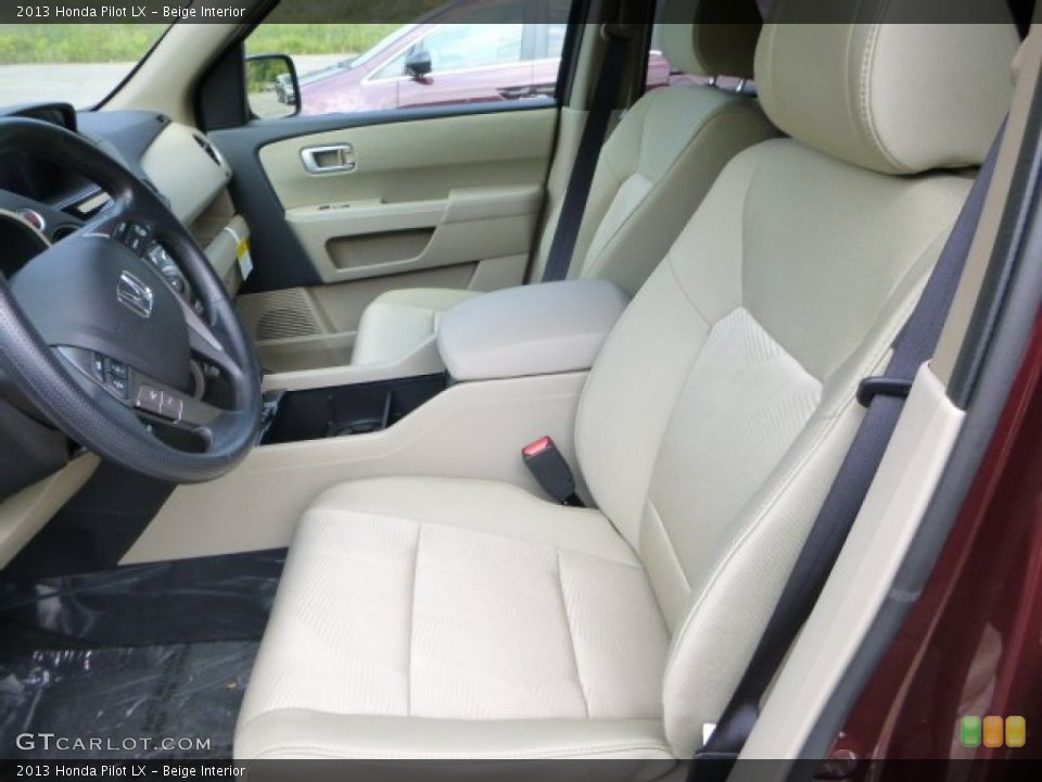 Beige Interior Photo for the 2013 Honda Pilot LX #84767416