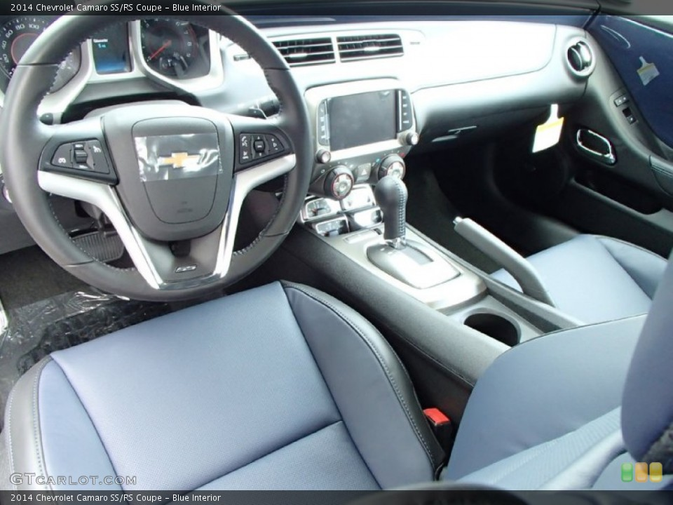 Blue 2014 Chevrolet Camaro Interiors
