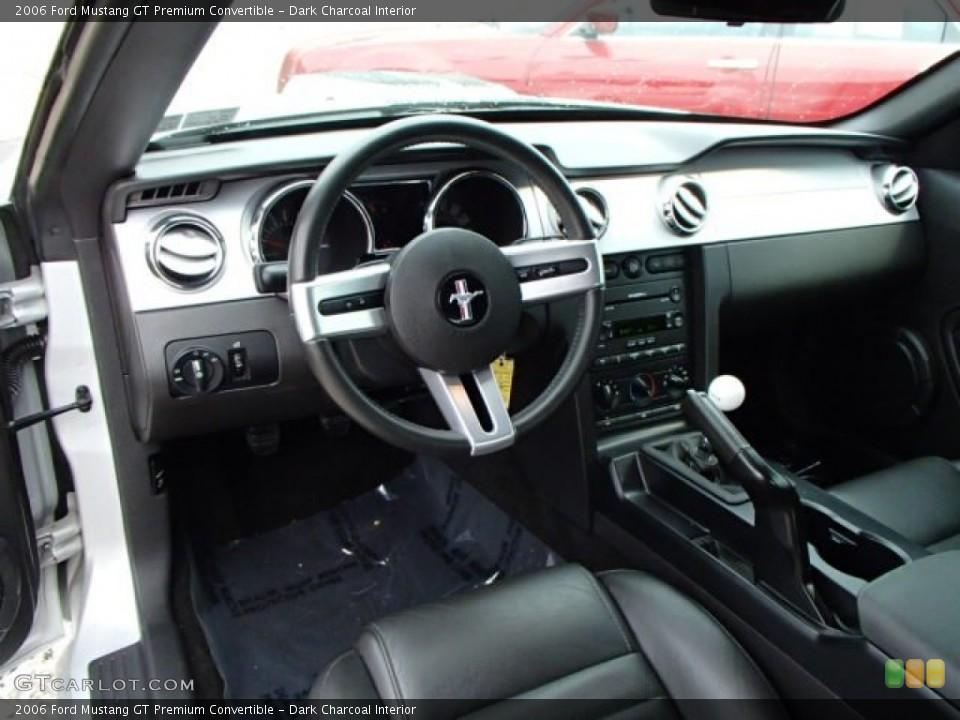 Dark Charcoal 2006 Ford Mustang Interiors