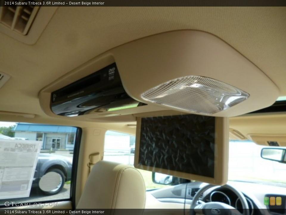 Desert Beige Interior Entertainment System for the 2014 Subaru Tribeca 3.6R Limited #85612231
