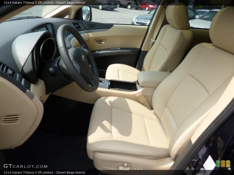Desert Beige Interior Photo for the 2014 Subaru Tribeca 3.6R Limited #85612306