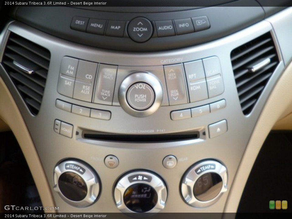 Desert Beige Interior Controls for the 2014 Subaru Tribeca 3.6R Limited #85612387