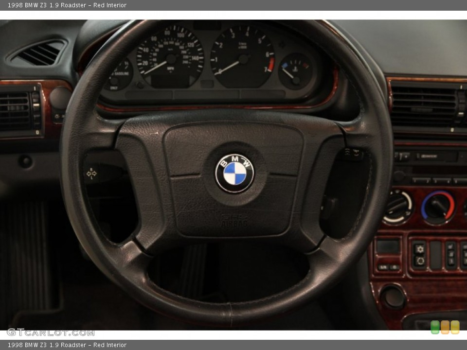 Red Interior Steering Wheel for the 1998 BMW Z3 1.9 Roadster #85897207