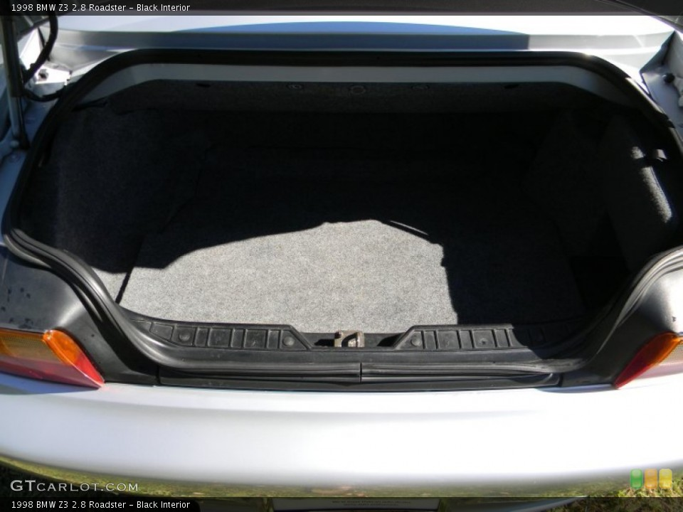 Black Interior Trunk for the 1998 BMW Z3 2.8 Roadster #85960779
