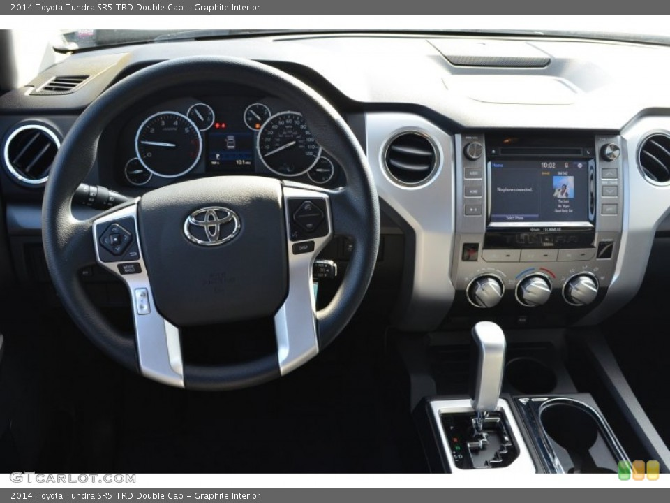 Graphite Interior Dashboard for the 2014 Toyota Tundra SR5 ...