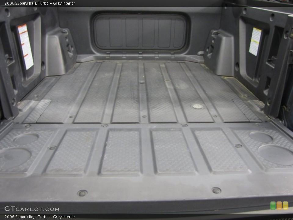 Gray Interior Trunk for the 2006 Subaru Baja Turbo #86150142