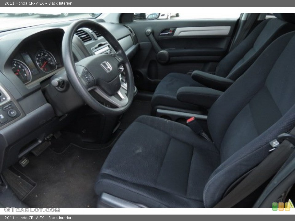 Black 2011 Honda CR-V Interiors