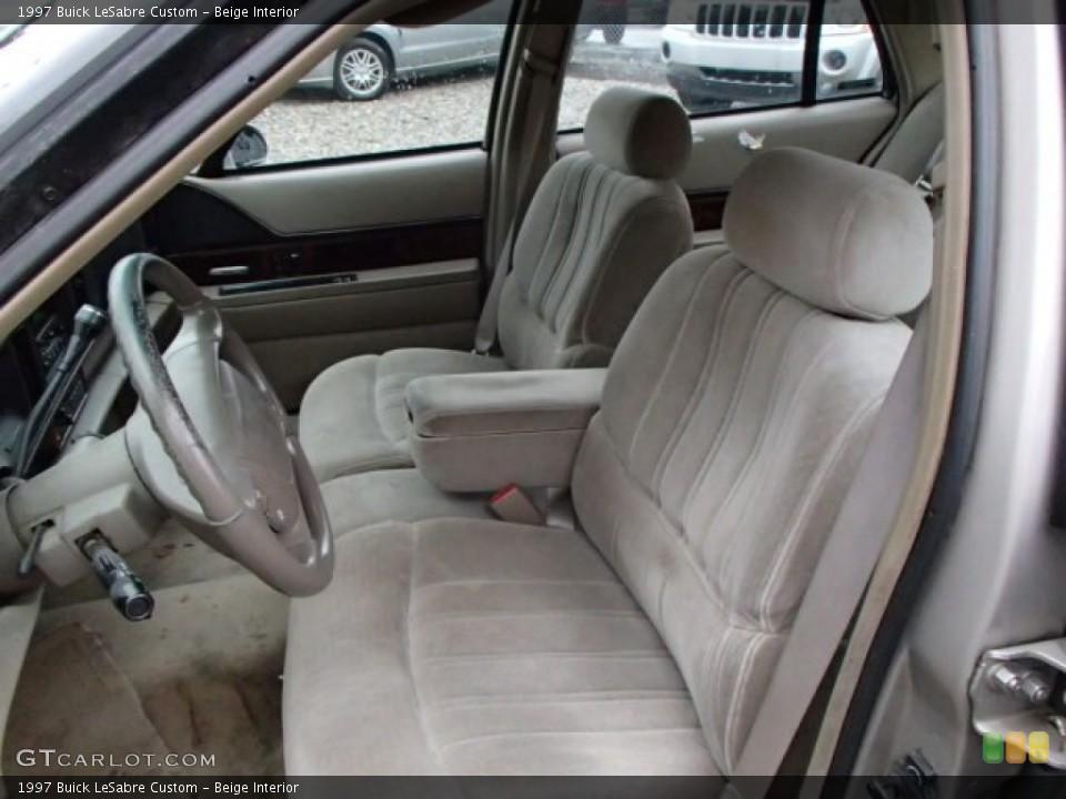 Beige 1997 Buick LeSabre Interiors