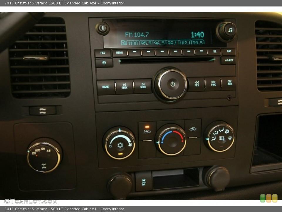 Ebony Interior Controls for the 2013 Chevrolet Silverado 1500 LT Extended Cab 4x4 #86610051