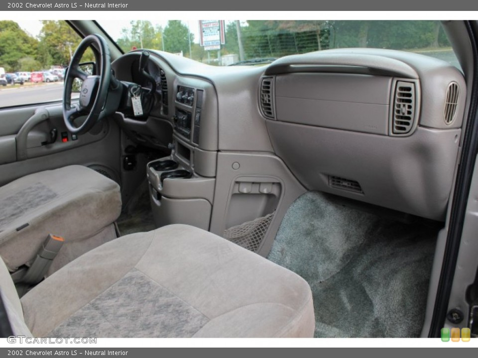 Neutral Interior Dashboard for the 2002 Chevrolet Astro LS #86660593