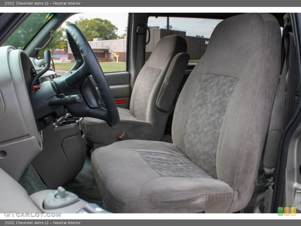 Neutral Interior Front Seat for the 2002 Chevrolet Astro LS #86660662