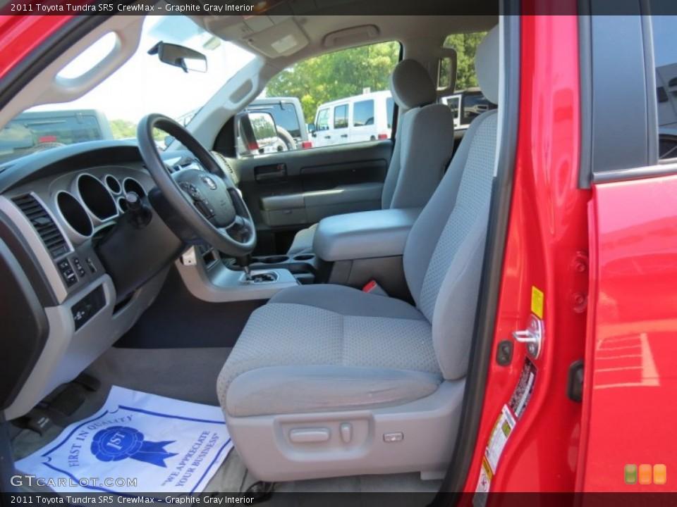 Graphite Gray Interior Photo for the 2011 Toyota Tundra SR5 CrewMax #86682678