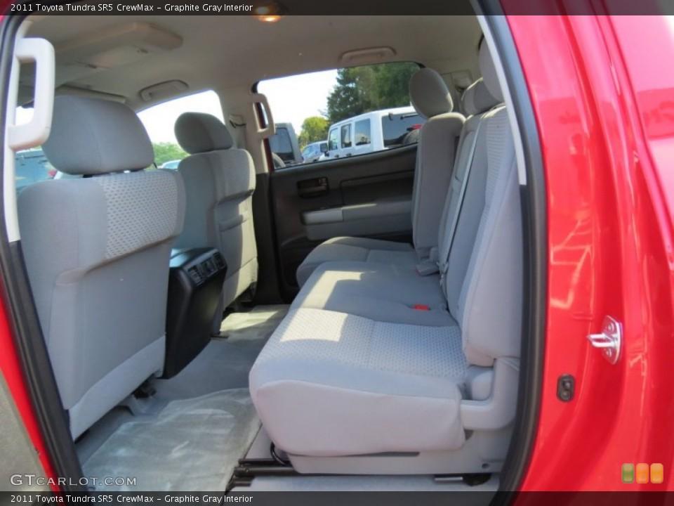 Graphite Gray Interior Rear Seat for the 2011 Toyota Tundra SR5 CrewMax #86682738