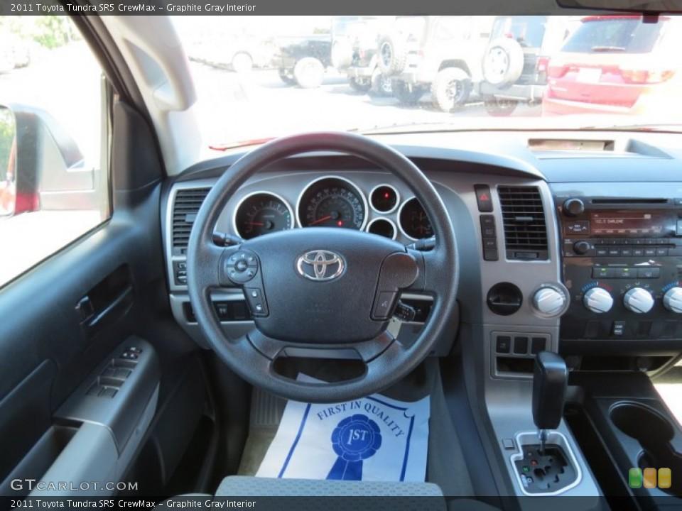 Graphite Gray Interior Dashboard for the 2011 Toyota Tundra SR5 CrewMax #86682900