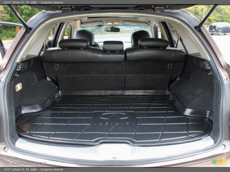 Graphite Interior Trunk for the 2007 Infiniti FX 35 AWD #86894542
