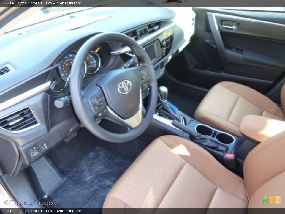 Amber interior prime interior for the 2014 toyota corolla - 2014 toyota corolla interior features ...