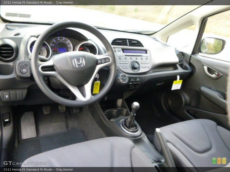 Gray 2013 Honda Fit Interiors