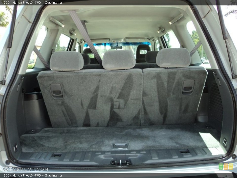 Gray Interior Trunk for the 2004 Honda Pilot LX 4WD #87419465