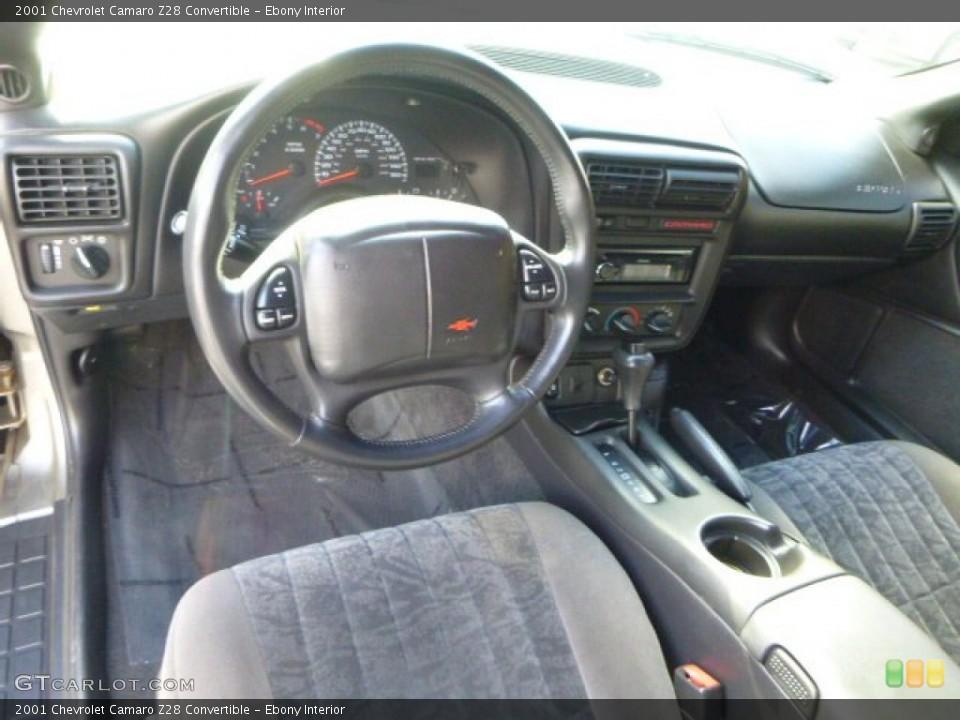 ebony interior prime interior for the 2001 chevrolet camaro z28 convertible 87475403 gtcarlot com gtcarlot com