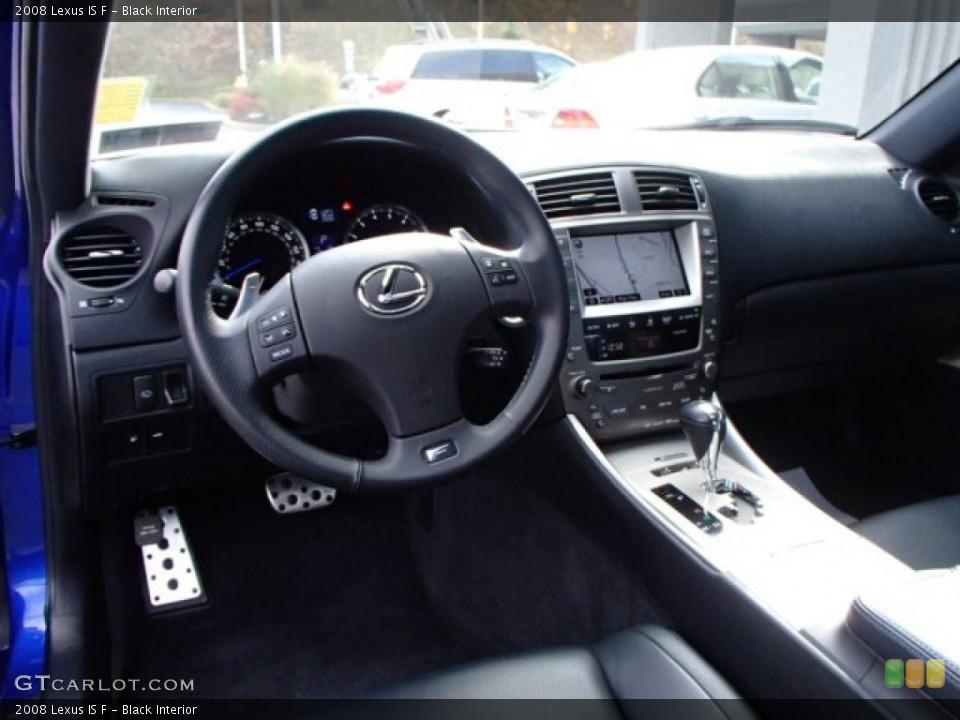 Black 2008 Lexus IS Interiors