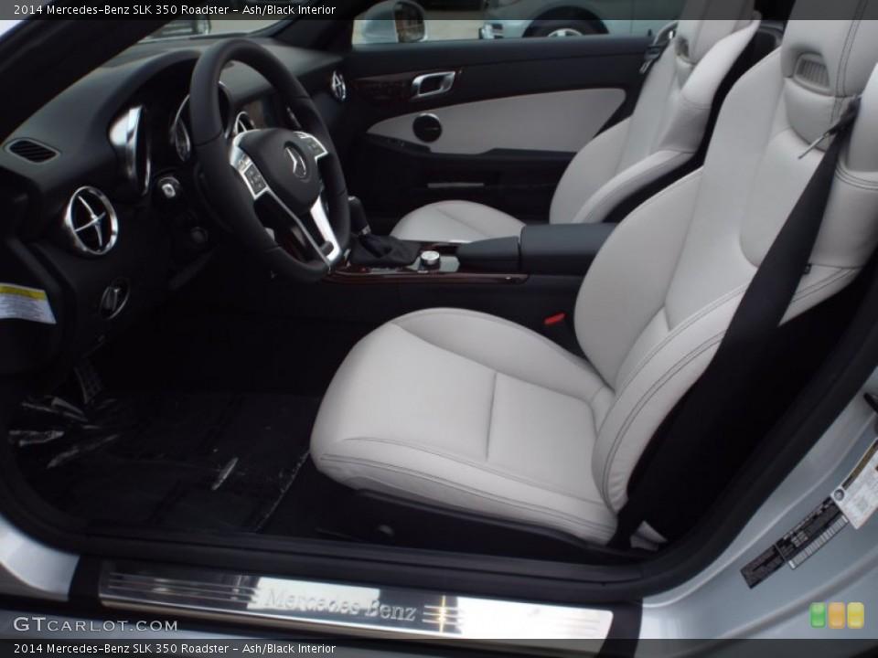 Ash/Black 2014 Mercedes-Benz SLK Interiors