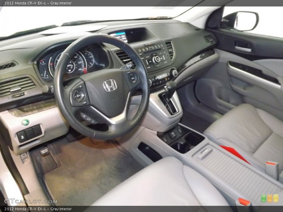 Gray 2012 Honda CR-V Interiors