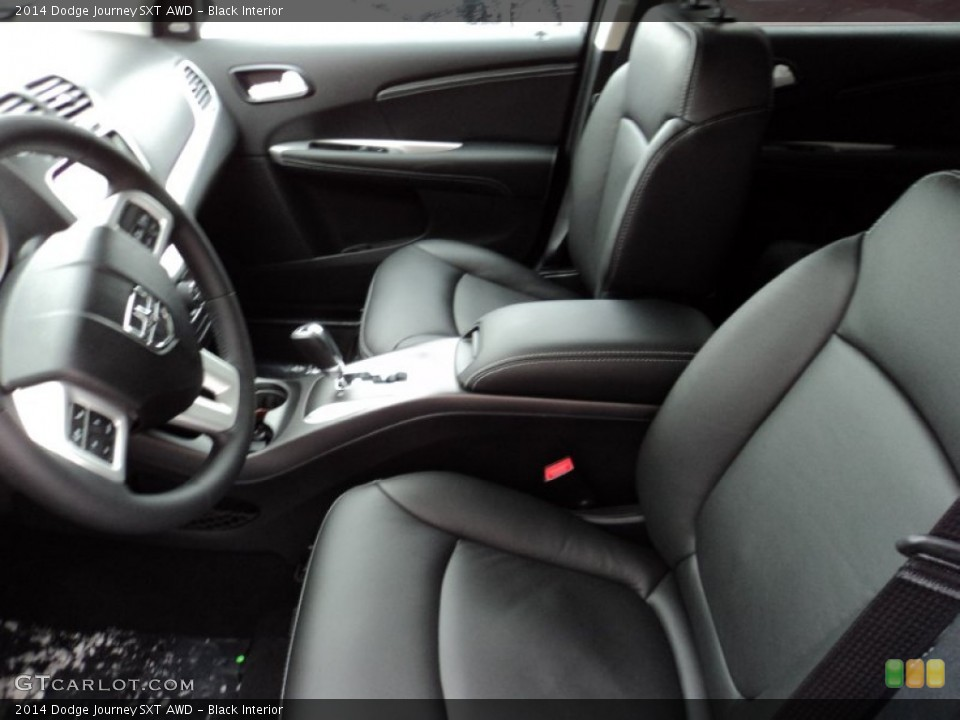 Black 2014 Dodge Journey Interiors