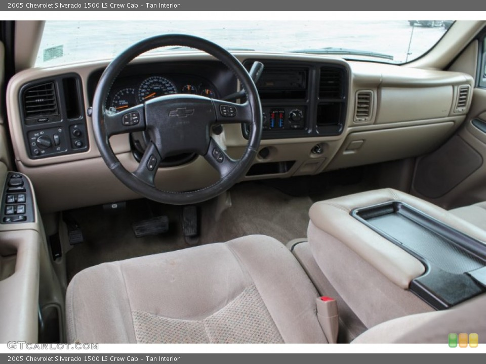 Tan 2005 Chevrolet Silverado 1500 Interiors