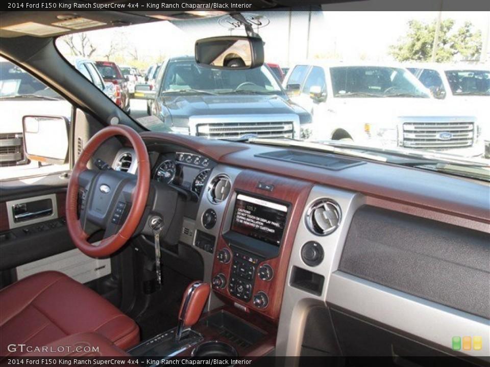 king ranch chaparralblack interior dashboard for the 2014 ford f150 king ranch supercrew 4x4 - 2014 Ford F150 King Ranch Interior