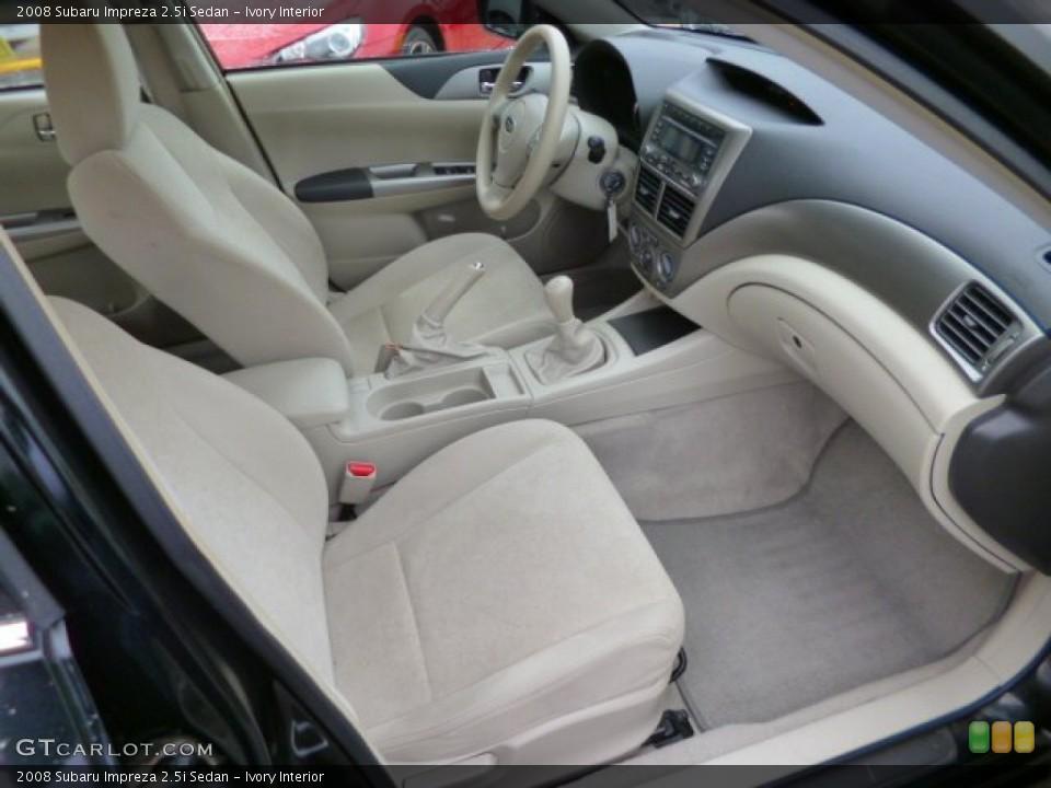 Ivory Interior Photo for the 2008 Subaru Impreza 2.5i Sedan #89275134
