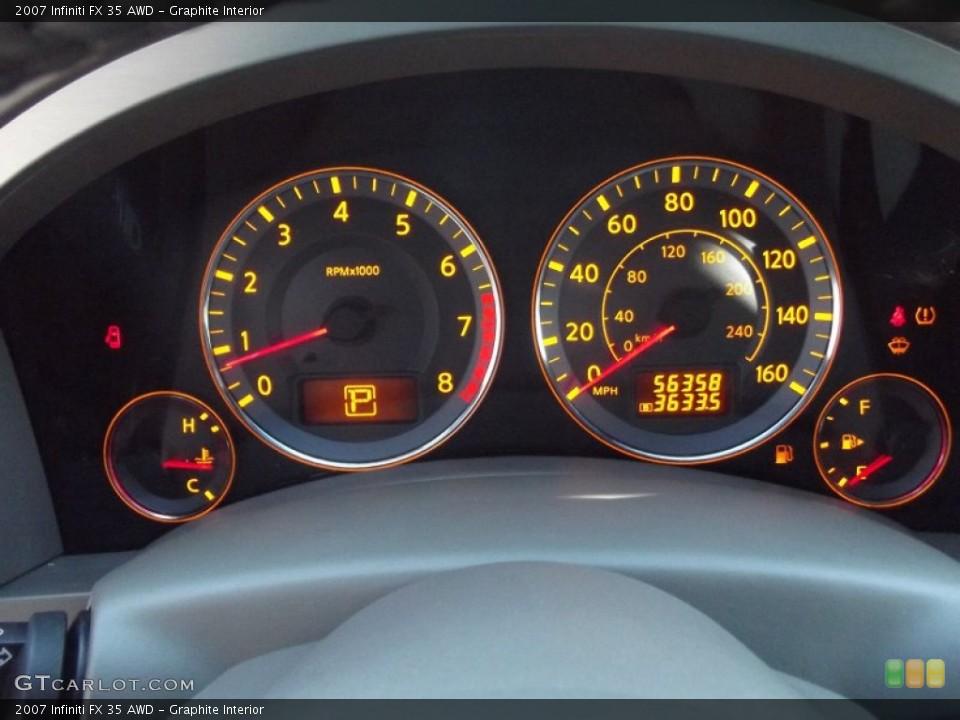Graphite Interior Gauges for the 2007 Infiniti FX 35 AWD #89525248
