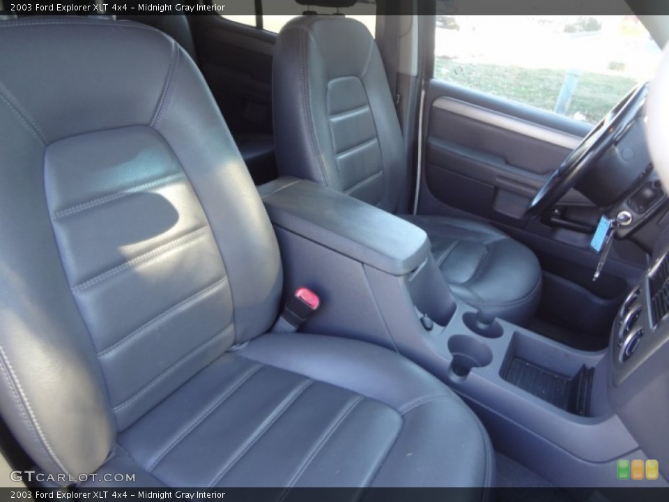 Midnight Gray Interior Front Seat for the 2003 Ford Explorer XLT 4x4 #89565208