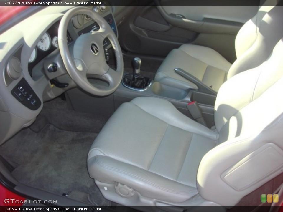 Titanium 2006 Acura RSX Interiors
