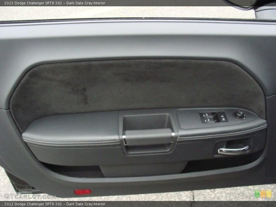Dark Slate Gray Interior Door Panel for the 2013 Dodge Challenger SRT8 392 #89927709