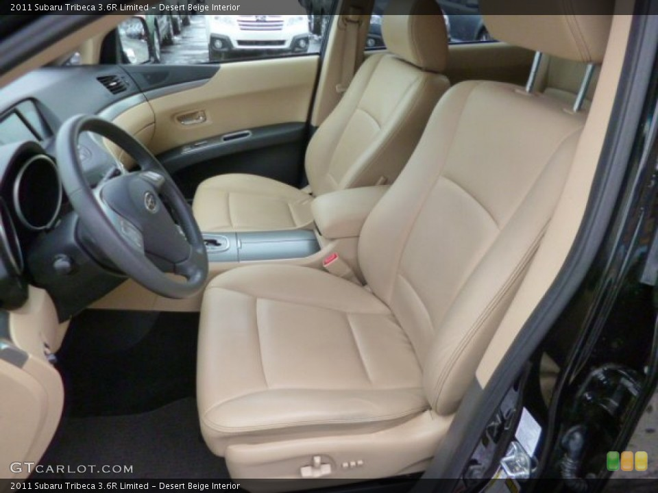 Desert Beige Interior Front Seat for the 2011 Subaru Tribeca 3.6R Limited #89942553