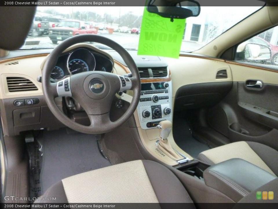 Cocoa/Cashmere Beige 2008 Chevrolet Malibu Interiors