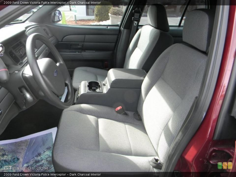 Dark Charcoal 2009 Ford Crown Victoria Interiors