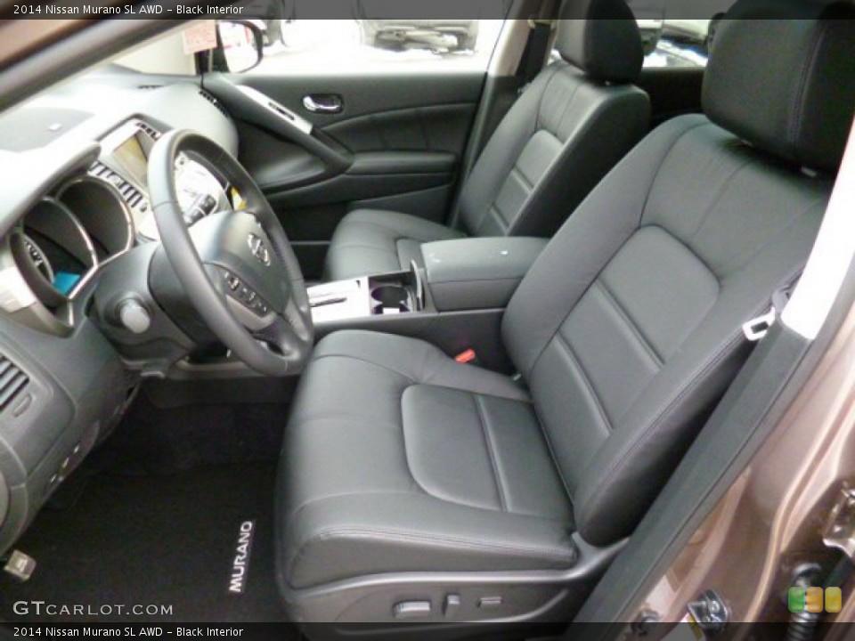 Black 2014 Nissan Murano Interiors