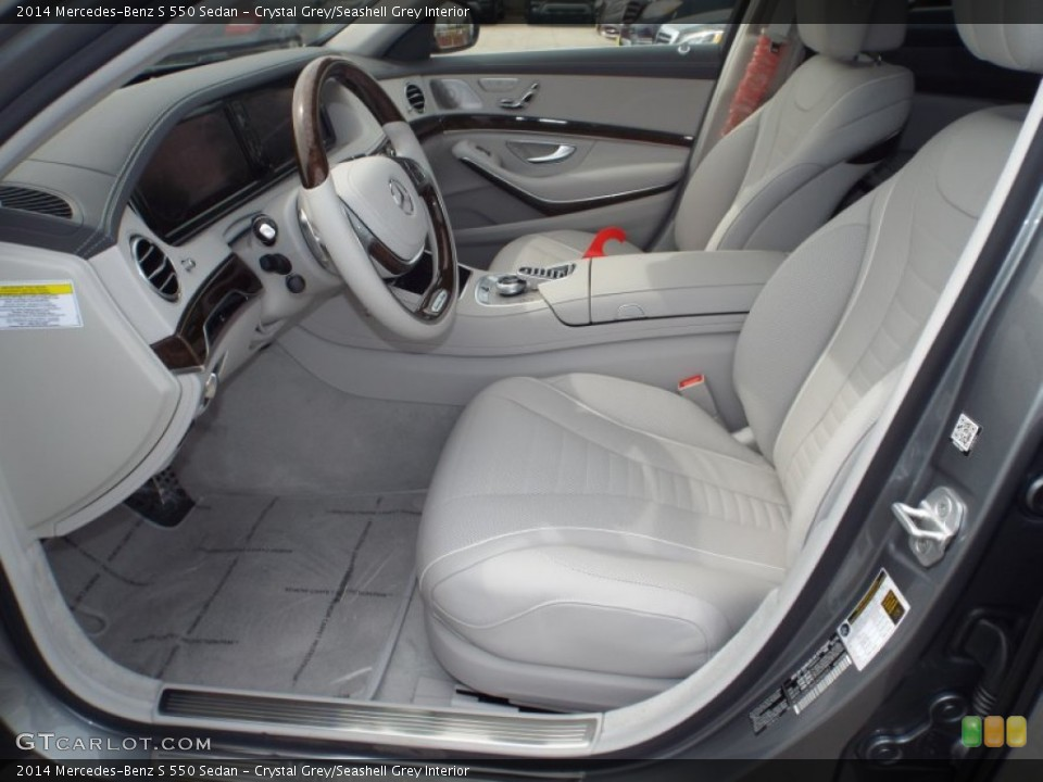 Crystal Grey/Seashell Grey Interior Photo for the 2014 Mercedes-Benz S ...