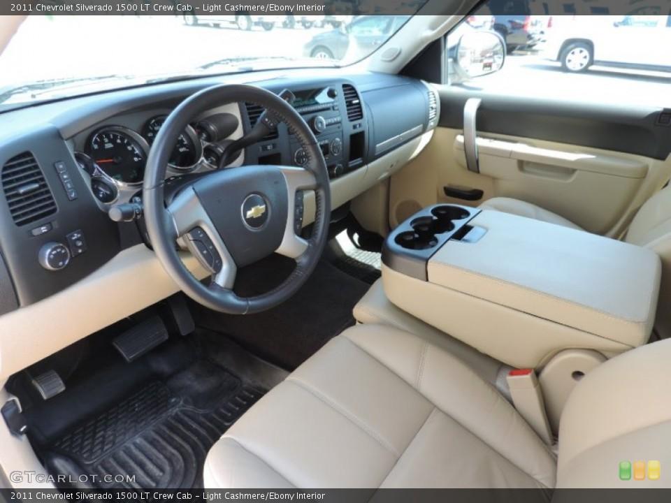 Light Cashmere/Ebony 2011 Chevrolet Silverado 1500 Interiors