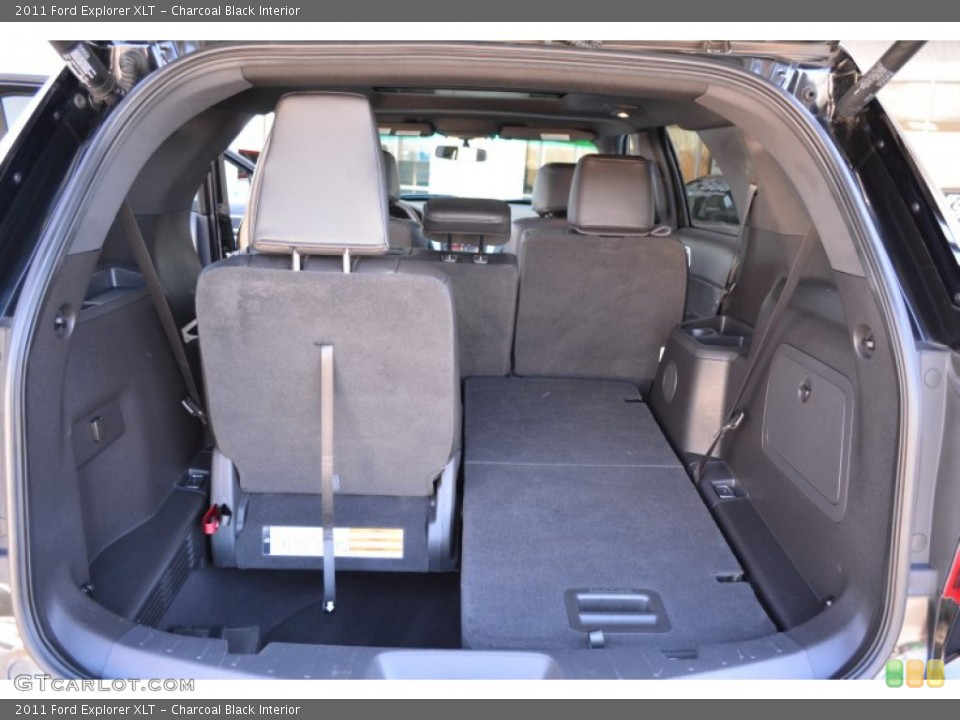 Charcoal Black Interior Trunk for the 2011 Ford Explorer XLT #91414928
