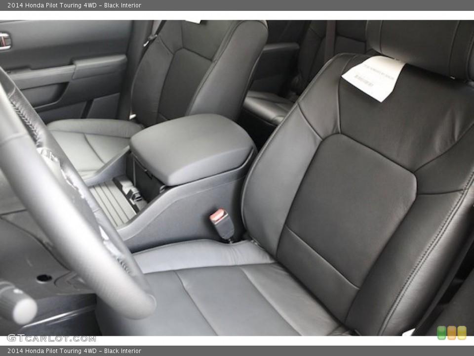 Black 2014 Honda Pilot Interiors