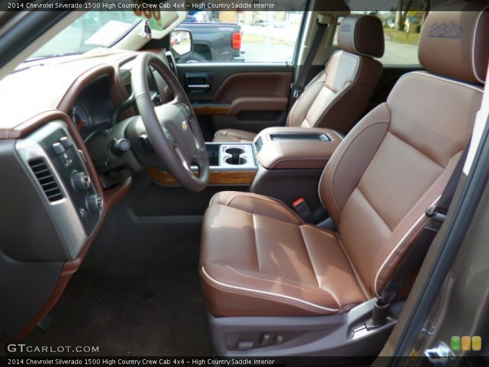 High Country Saddle Interior Prime Interior for the 2014 Chevrolet Silverado 1500 High Country Crew Cab 4x4 #91627947