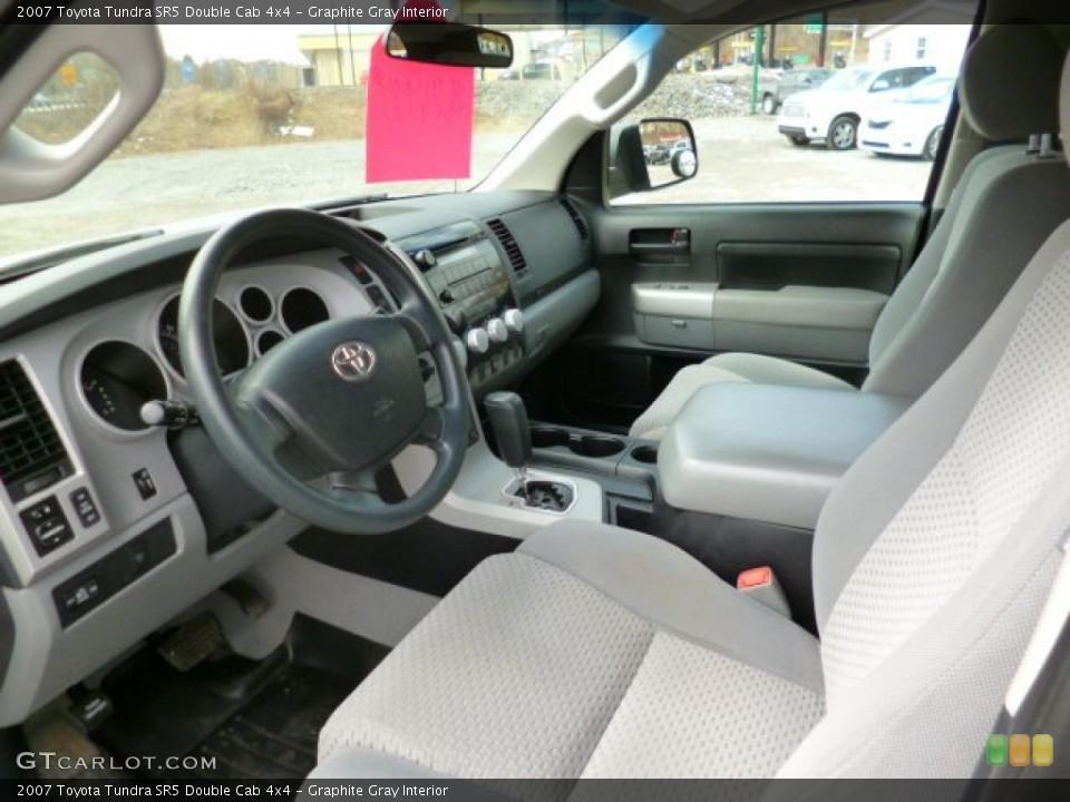 Graphite Gray 2007 Toyota Tundra Interiors