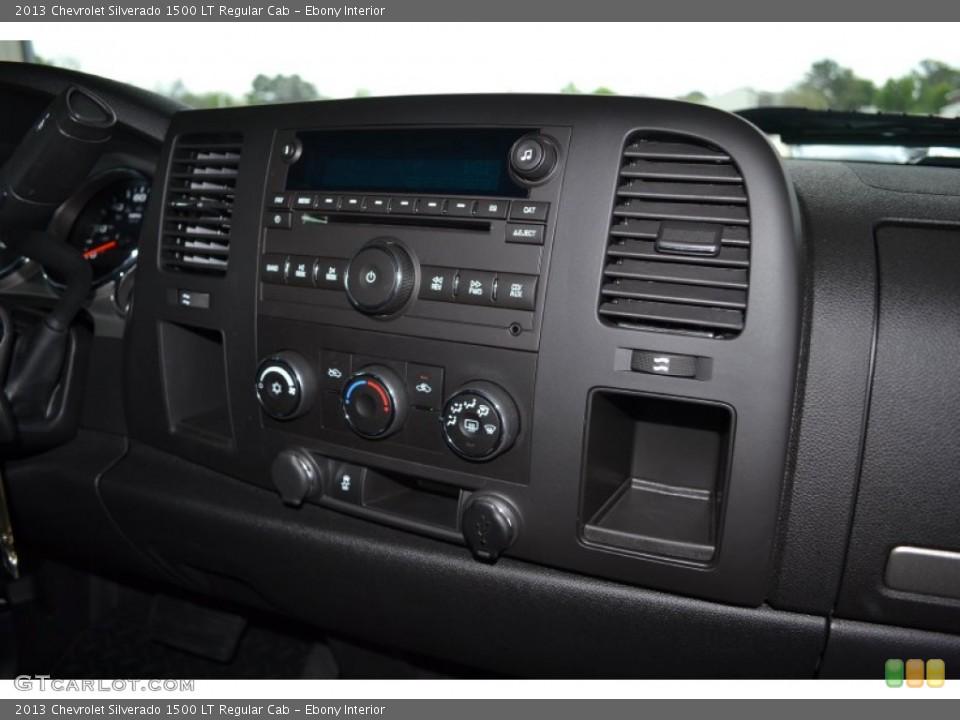 Ebony Interior Controls for the 2013 Chevrolet Silverado 1500 LT Regular Cab #92278216