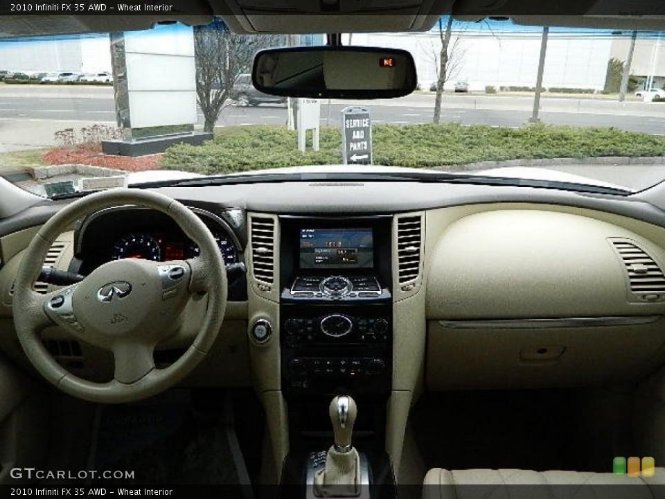 Wheat Interior Dashboard for the 2010 Infiniti FX 35 AWD #92282317