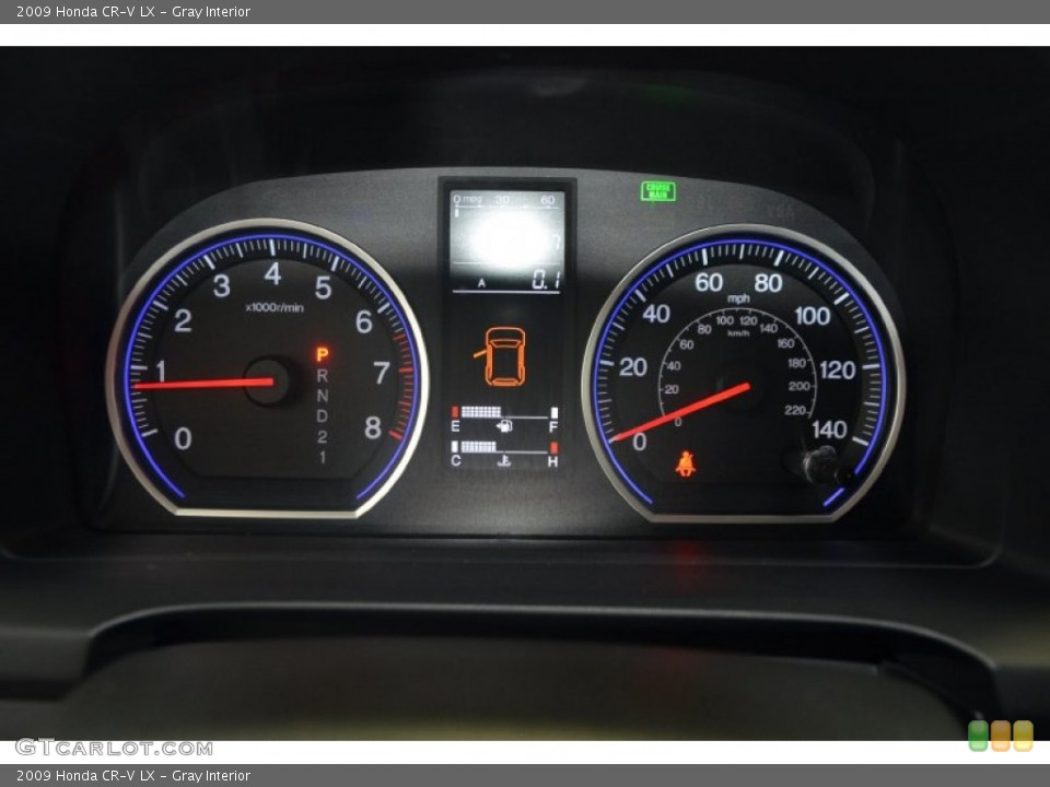 Gray Interior Gauges for the 2009 Honda CR-V LX #92782603