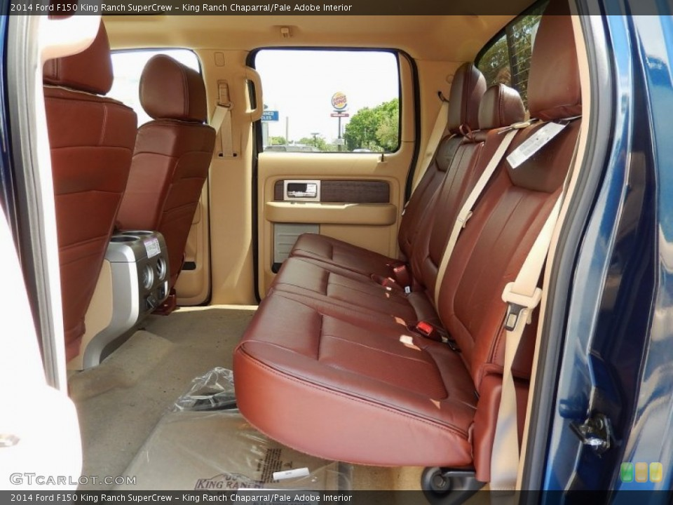 King Ranch Chaparral Pale Adobe Interior Rear Seat For The 2014 Ford