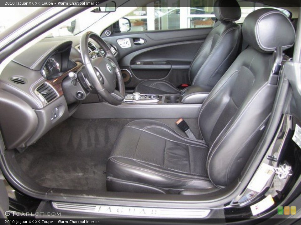 Warm Charcoal Interior Photo for the 2010 Jaguar XK XK Coupe #93120470