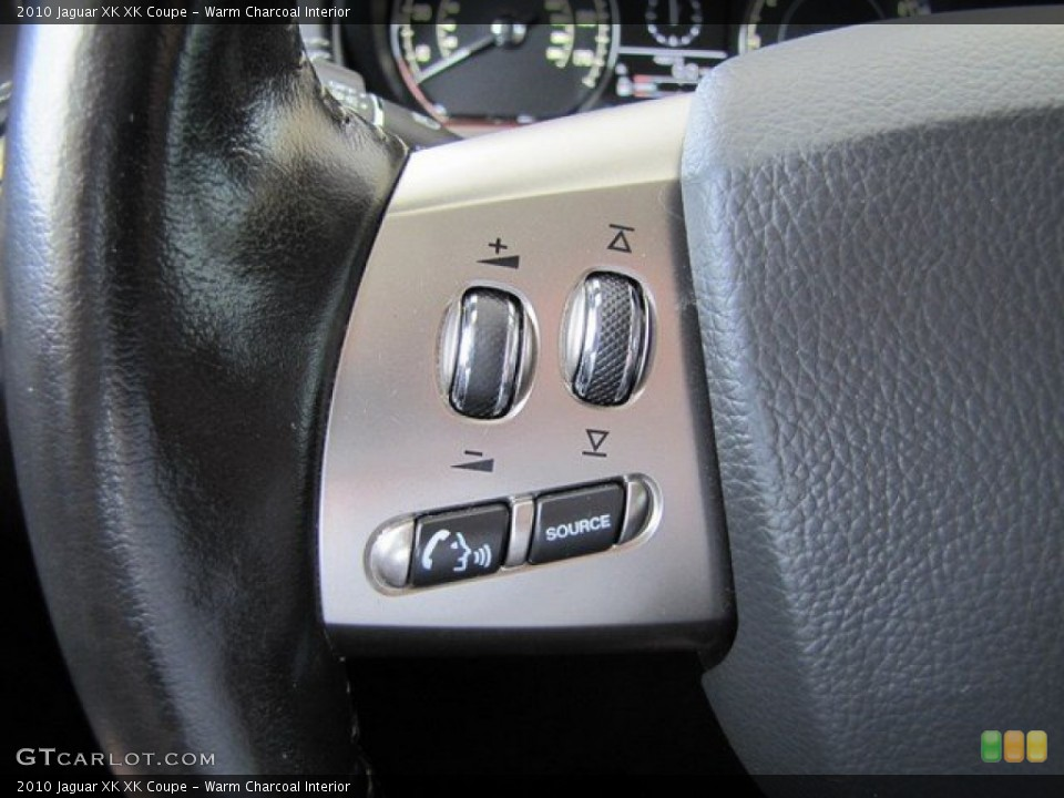 Warm Charcoal Interior Controls for the 2010 Jaguar XK XK Coupe #93120752